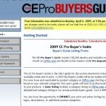 CEPro Buyer's Guide: Main Page (March 2009)