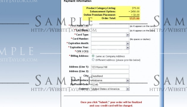 CEPro Buyer's Guide: Payment Page (March 2009)
