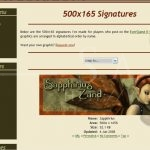 EQ2 Graphics: Gallery Page (September 2008)