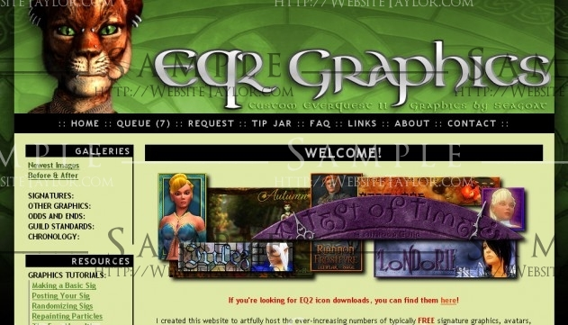 EQ2 Graphics: Main Page (January 2009)