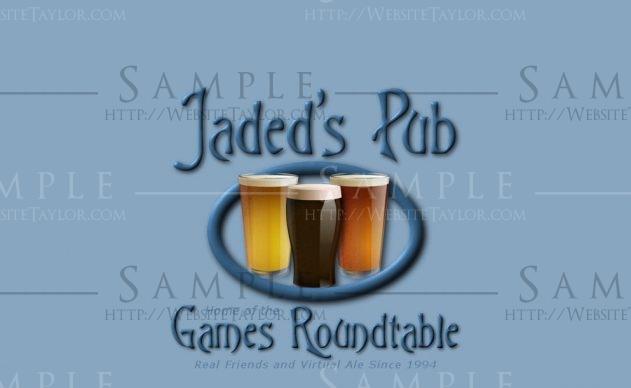 Jaded's Pub: Splash Page (March 2007)