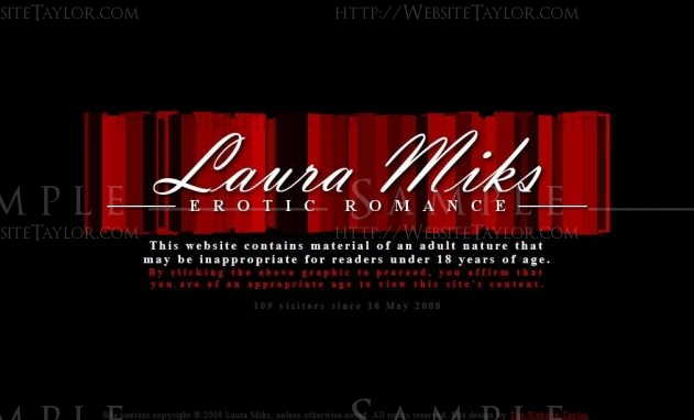Laura Miks: Splash Page (May 2008)