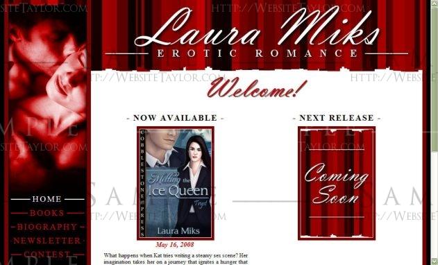 Laura Miks: Main Page (May 2008)