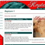 Rapture Publishing: Book Info Page (August 2007)