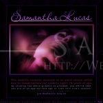 Samantha Lucas: Splash Page (July 2007)
