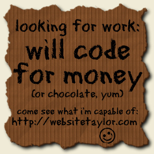 will-code-for-money