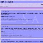 LunaClick.net Albums: Main Page (Gallery, October 2004)