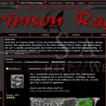 Crimson Rage: Main Page (May 2007)