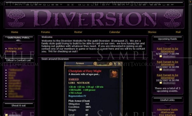 Diversion: Main Page (September 2007)