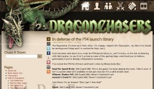 Dragonchasers: Main Page (March 2013)