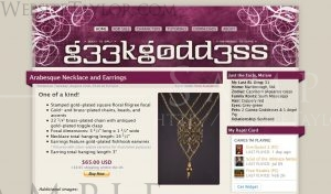 g33kg0dd3ss: Main Page (August 2010)