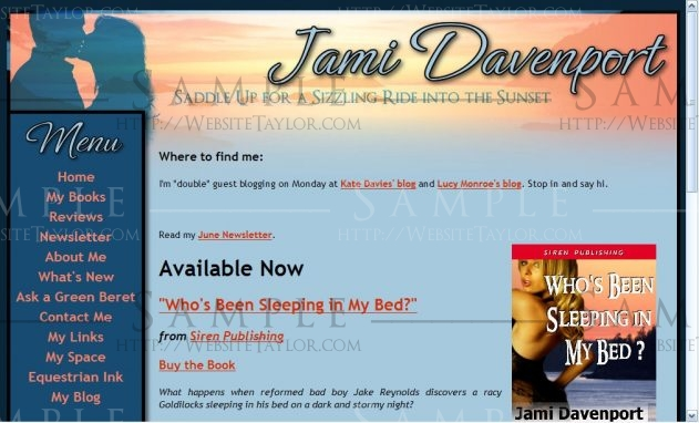 Jami Davenport: Main Page (May 2008)
