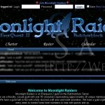 Moonlight Raiders: Main Page (August 2008)