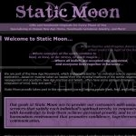 Static Moon: Intro Page (osCommerce, November 2006)