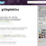 g33kg0dd3ss (Twitter, May 2009)