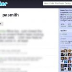 pasmith (Twitter, May 2009)