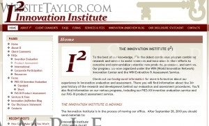 Innovation Institute: Main Page (October 2010)