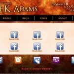 Allie K. Adams: Books Page (September 2011)