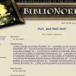 BiblioNorrath: Main Page (February 2013)