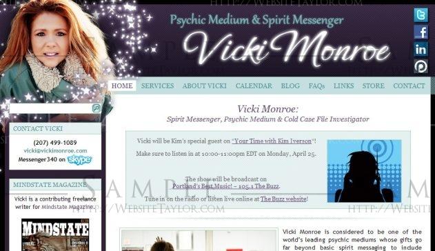 Vicki Monroe: Main Page (October 2010)