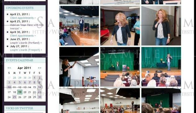 Vicki Monroe: Gallery Page (October 2010)